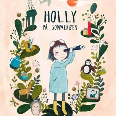 Holly på sommerøen + Vintersø