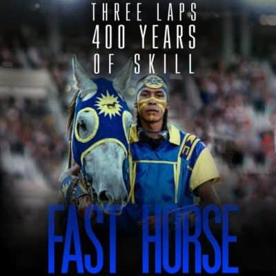 Fast horse + En mand vender tilbage